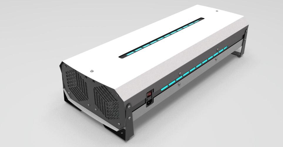 Рециркулятор-очиститель воздуха NEWLED.NEF для помещений 200 куб.м